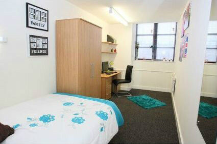 Manchester Student Village Single Bedroom Near Mmu Uom