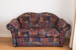 Two Seater Sofa Geometric Pattern Seaton Charles Sturt Area Preview