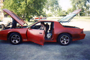 85' Iroc rims from year 1 Iroc I had trade for others.
