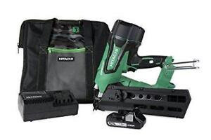Hitachi NR1890DR 18V Cordless Framing Nailer Kit (Open Box)