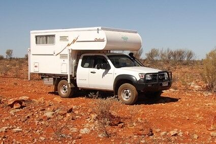 Islander Outback Slide on Camper with Mazda BT50 DX+ 4WD Utility Toowoomba Toowoomba City Preview
