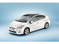 PCO UBER TOYOTA PRIUS FROM £100 P/W HYBRID CARS MINI CAB READY PRIVATE HIRE HIGHEST QUALITY RENTAL