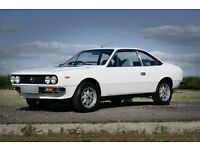Stylish and rare 1979 Lancia Beta coupe. Classic car for sale