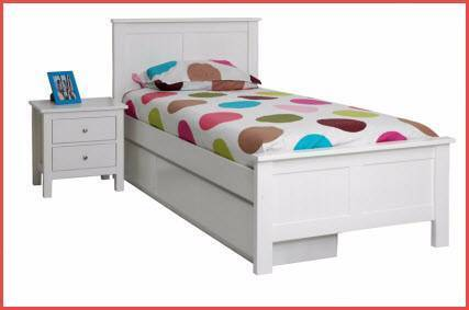 New White Single Kids Novelty Bed. Rent to Keep Option.