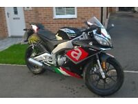 Aprilia RS4 50cc - Low mileage 2400miles- warranty - service history - Motorbike - moped - scooter