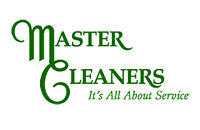 20 yrs experience THE MASTER CLEANERS
