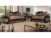 COMFY sofas with FREE FOOTSTOOL ##