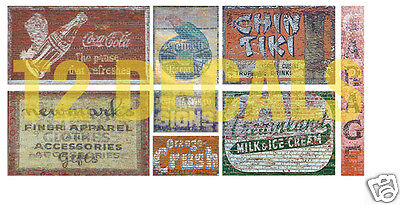 N Scale Ghost Sign Decals #17- Weather Your Buildings & Structures!