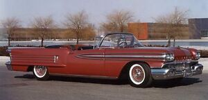 WANTED ! 1958 Oldsmobile 88 or 98 Convertible