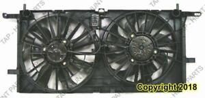 Cooling Fan Assembly 3.5 With Rear AC Chevrolet Uplander 2005-2009