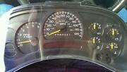 Silverado Speedometer