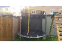 Sportspower 8ft Enclosure Trampoline Customer Returns - Boxed SOLD AS SEEN