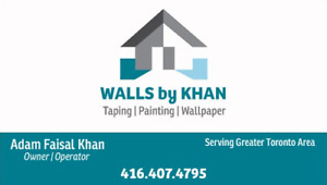 Professional Paint and/or Wallpaper installation