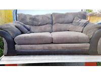 2 seater and 3 seater DFS sofas FREE DELIVERY