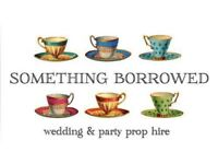 Vintage crockery and prop hire