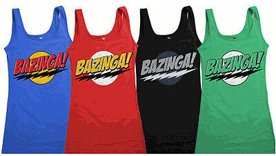 Juniors TV Show The Big Bang Theory Bazinga Sexy Halloween Tank Dress Dresses ()