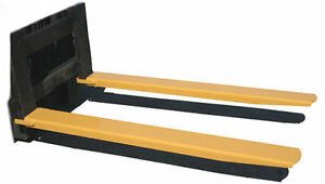 """5 X 60 Forklift Extensions sutaible for 4"""" thick forks brand new"""