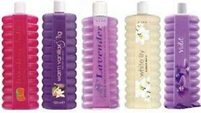 4 x Avon BUBBLE BATH 500ml each LUCKY DIP**sale***free postage