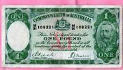1 Pound Note Australia