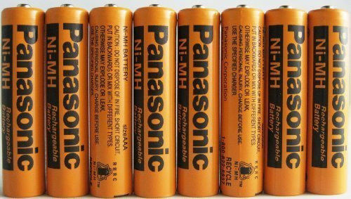 8 Pack  Ni-MH 700mAh AAA Rechargeable Battery for Panasonic