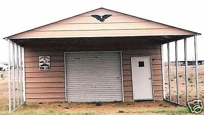20 X 31 X 8 Combo Carport Garage Free Install. Nation-wide Prices Vary