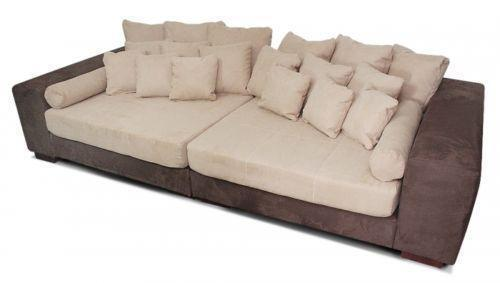 big sofa wohnlandschaft sofas sessel ebay. Black Bedroom Furniture Sets. Home Design Ideas