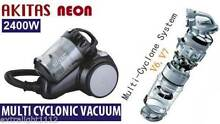 New Japan Akitas Neon Multi Cyclonic 2400W Bagless Vacuum Cleaner Braeside Kingston Area Preview
