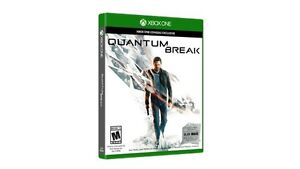 QUANTUM BREAK Xbox One(unopened, unused)