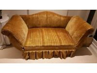 VINTAGE SOFA / RECAMIER CHAIR