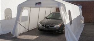 Carpot/shelter installation