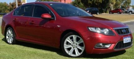 2010 Ford Falcon FG G6 Red 5 Speed Sports Automatic Sedan