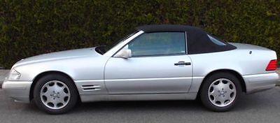 Gebraucht, Mercedes R-129 Cabrio Verdeck Stoff schwarz  (Q2 aus dem Cabriozentrum) R129 gebraucht kaufen  Bissendorf