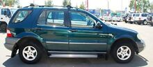 1999 Mercedes-Benz ML320 W163 MY2000 Classic Green 5 Speed Sports Automatic Wagon Bellevue Swan Area Preview