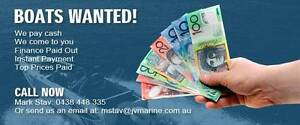 BOATS WANTED - WE PAY CASH FOR BOATS - CALL NOW! Braeside Kingston Area Preview