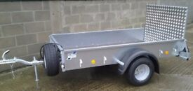 Trailer Ifor williams P7e (great size for them trips in to the tip/waste site)