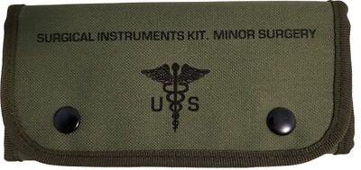 Field Trauma Kit - ELITE FIRST AID Surgical Kit STOCKED Field Medic Suture Trauma Survival ODG+