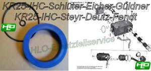Rep-Satz Dichtsatz Heck Hydraulik Kraftheber ZF KR25 IHC Deutz