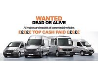 WANTED. ANY. MERCEDES SPRINTER VANS DEAD OR ALIVE