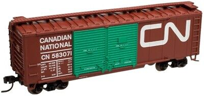 Atlas N #38839 Canadian National 40' Double Door Box Car CN Rd #583071 - (Rd National)