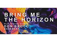 3x Bring Me The Horizon Glasgow Tickets