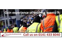 Events Steward (Music/Sporting Events)
