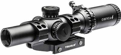 Truglo Omnia 1-6x24mm Scope 30mm Tube Ir Sp W/1pc Mount Do Riflescope: TG8516TLR