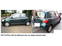 2000 Toyota Yaris 1.3 Automatic 5DR Hatchback GREEN