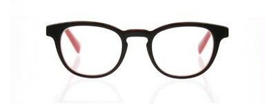 2.00 Take A Stand Black & Red Eyebobs Eyeglasses Readers Reading Glasses New