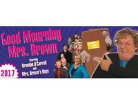 4 Seated Tickets, Mrs Brown, Hydro, Friday 30 March 7.30pm