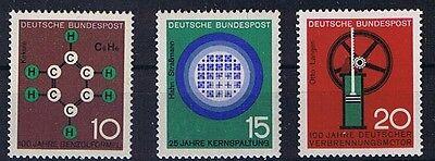 BUND MINR 440 442 FORTSCHRITT IN TECHNIK UND WISSENSCHAFT POSTFRISCH