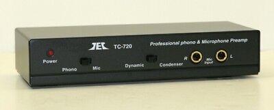 Tcc Tc 720  Mike  Riaa Phono Preamp