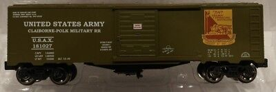 US ARMY Boxcar NEW RMT/Ready Made Trains 2019 O-Line Lionel