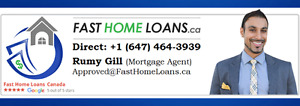 Private & 2nd Mortgage/Home Equity Loan Approved all over Canada