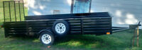**Utility Trailer 5.5x12: good for snowmobile or landscaping